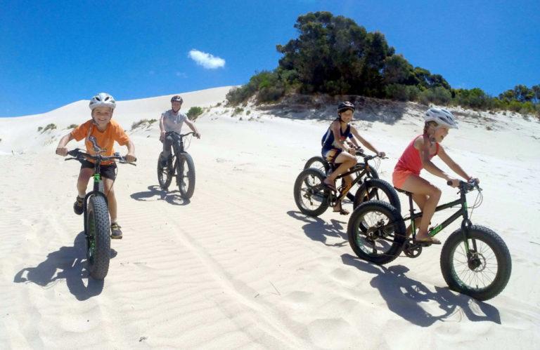 KI Outdoor Action fatbiking tours - Kangaroo Island family holiday - Exceptional Kangaroo Island tours