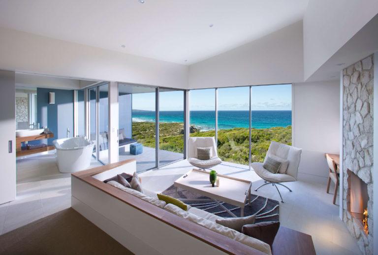 Southern Ocean Lodge room, Kangaroo Island Luxury Accommodation, Exceptional Kangaroo Island tours