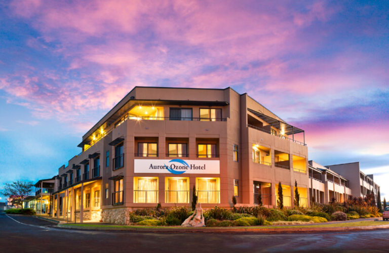 Aurora Ozone Hotel new from outside - Exceptional Kangaroo Island Tours.