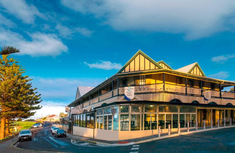 Aurora Ozone Hotel old from outside, Kingscote accommodation - Exceptional Kangaroo Island Tours