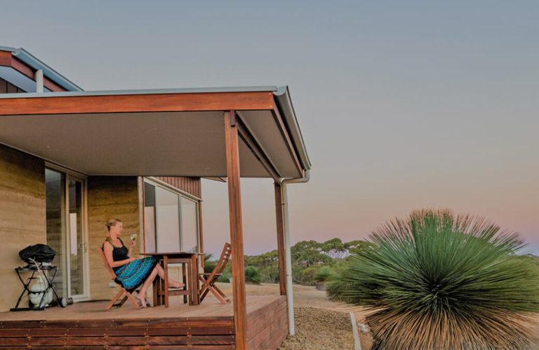Ecopia Retreat outside - Kangaroo Island- Kangaroo Island luxury accommodation - Exceptional Kangaroo Island Tours