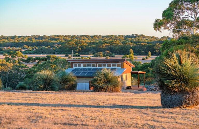 Ecopia Retreat outside - Kangaroo Island luxury accommodation - Exceptional Kangaroo Island Tours