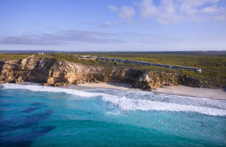 Southern Ocean Lodge aerial, Kangaroo Island Luxury Accommodation, Exceptional Kangaroo Island tours