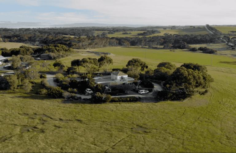 Molly's Run from above, Kangaroo Island accommodation, Exceptional Kangaroo Island tours