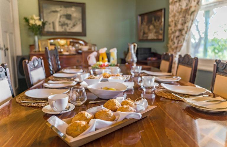 Stranraer Homestead breakfast, Kangaroo Island Luxury Accommodation, Exceptional Kangaroo Island Tours