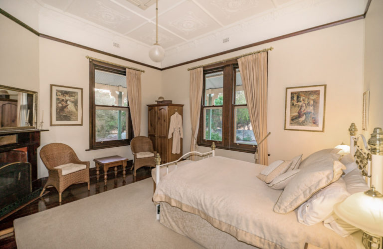 Stranraer Homestead bedroom, Kangaroo Island Luxury Accommodation, Exceptional Kangaroo Island Tours