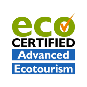 Eco Certified Advanced Tourism logo. Exceptional Kangaroo Island are leaders in ecotourism.