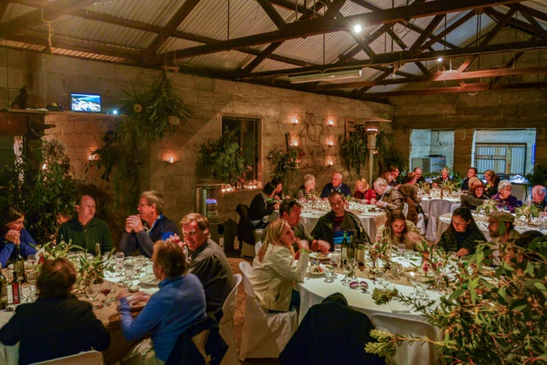 Shearing Shed Dinner. Exceptional Kangaroo Island Events.