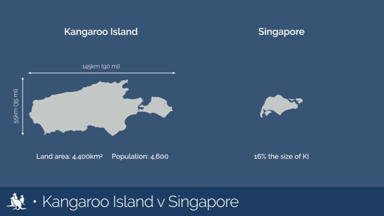 Kangaroo Island map comparison Singapore - Exceptional Kangaroo Island Tours