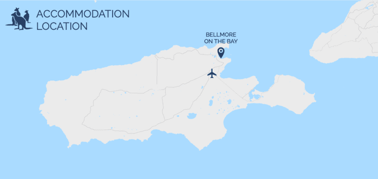 Bellmore on the Bay - Map - Kangaroo Island Accommodation - Exceptional Kangaroo Island Tours